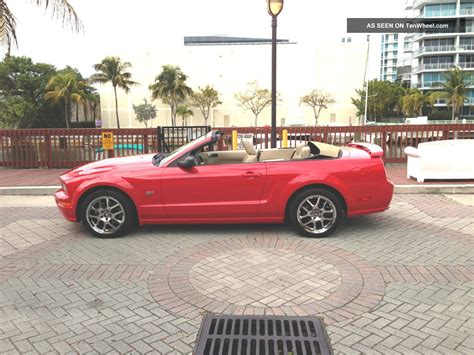 2005 mustang convertible 2005 mustang gt convertible automatic with cobra rims