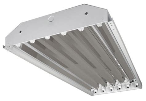 6 l fluorescent high bay 6 l enclosed high bay fluorescent light fixtures shop