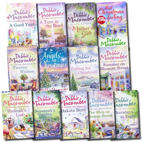 title 13 books debbie macomber collection 13 books set blossom