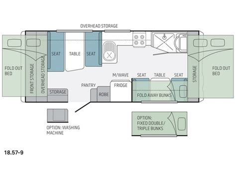 jayco caravan floor plans jayco expanda 18 57 9 rv towing caravans specification