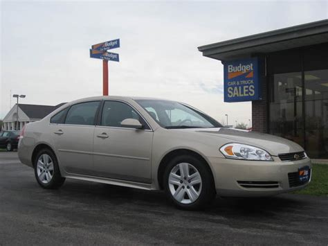 chevy 2010 impala 2010 chevrolet impala for sale in cedar rapids ia 10701180