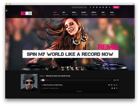 30 awesome responsive wordpress music themes 2017