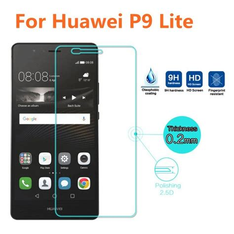 Tempered Glass Km Huawei P9 Lite for huawei p9 lite tempered glass original 9h high quality protective explosion proof