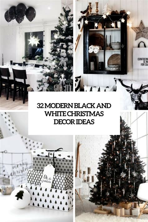 32 modern black and white d 233 cor ideas digsdigs
