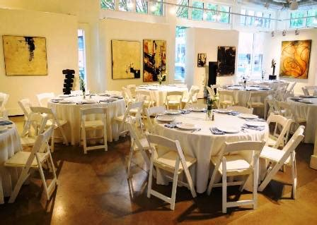 Table And Chair Rentals Portland Oregon by Catering At Gallery 903 In Portland Pearl District
