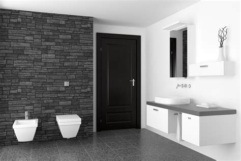 Schwarzes Badezimmer by Schultheiss Wohnblog