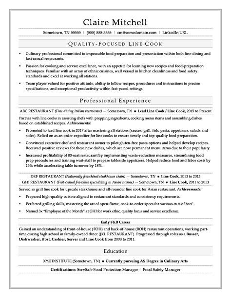 cook resume examples vibrant ideas cook resume 2 prep cook and