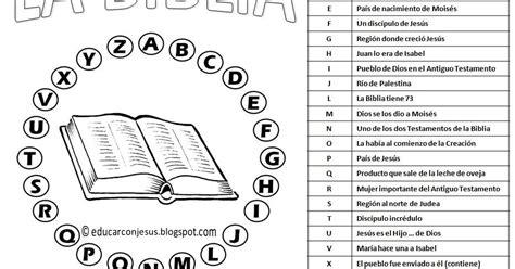 preguntas biblicas para niños catolicos enraiza2 para jugar en clase de religi 211 n al pasapalabra