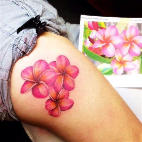 small plumeria tattoo single plumeria www pixshark images