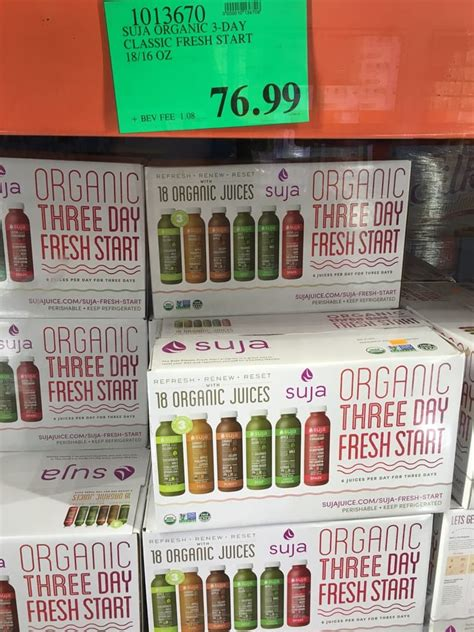 Green Detox Juice Costco by Suja Green Juice Costco