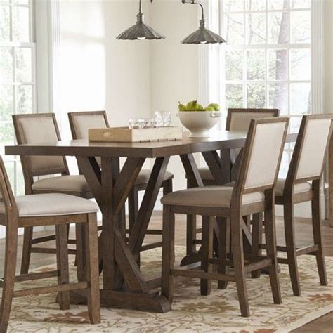 Rustic Counter Height Dining Table Sets 25 Best Ideas About Rectangle Table Centerpieces On Pinterest Rectangle Wedding Tables