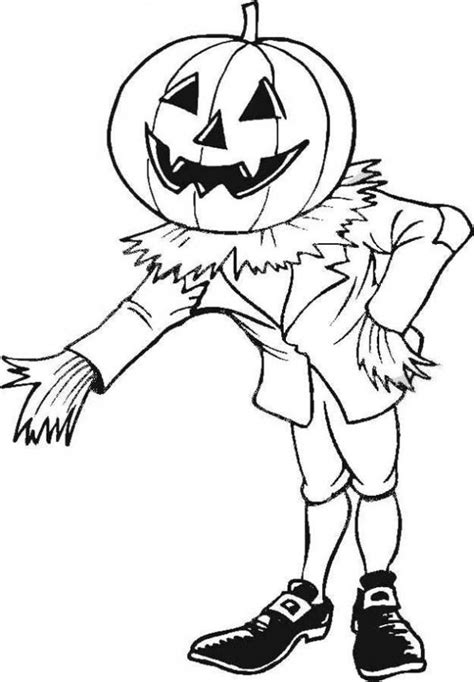 transmissionpress scary pumpkin coloring pages