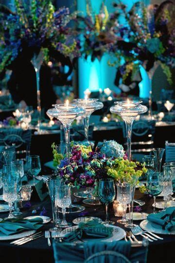 new years peacock themed table decoration table decorating ideas tables new