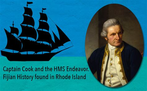 captain cook and the captain cook and the hms endeavor fijian history