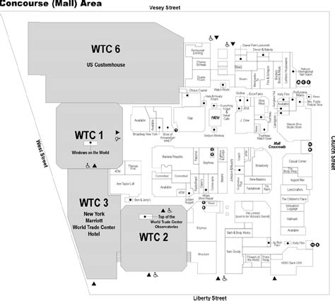 Klcc Floor Plan by The Mall At The World Trade Center New York New York