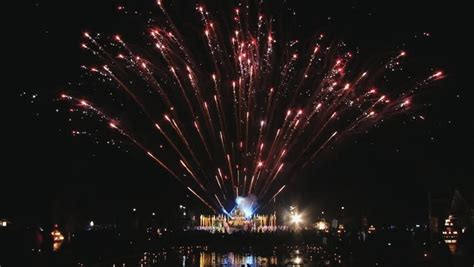 does thailand celebrate new year fireworks display beautiful large fireworks sparks
