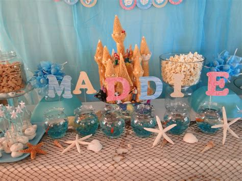 little decorations kara s party ideas little mermaid under the sea birthday