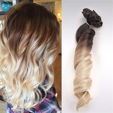 apliques tic tac cabelo humano aplique tic tac ombre hair cabelo humano ondulado 51 cm