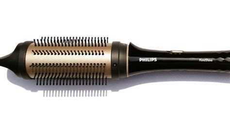 Philips Kerashine Hair Dryer And Straightener philips kerashine heated styling brush dryer