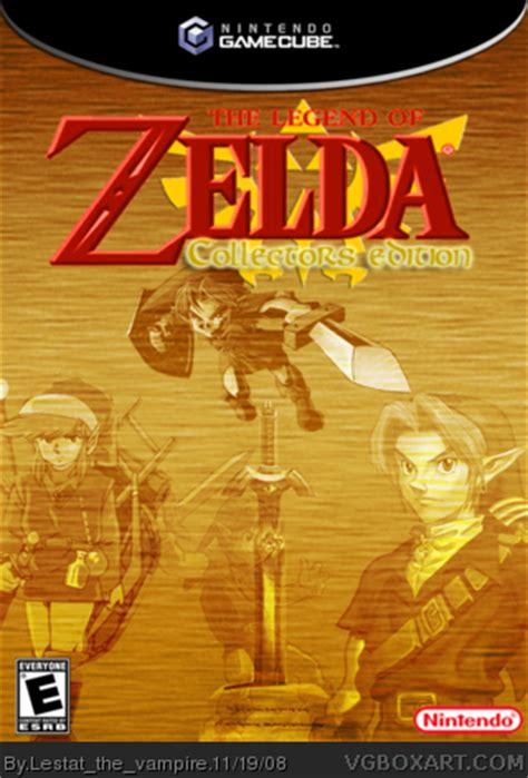 legend  zelda collectors edition gamecube box art