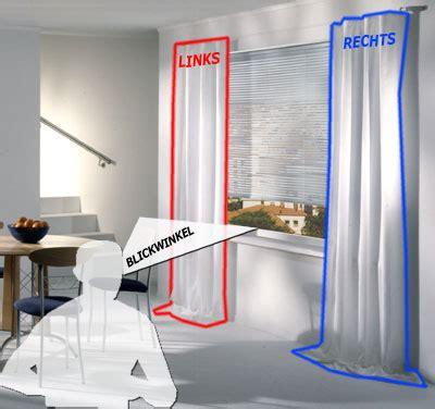 vorhang fenster sonderma 223 vorhang links rechts oder mittig am fenster
