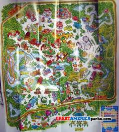 great america california map my great america collection mga8 greatamericaparks