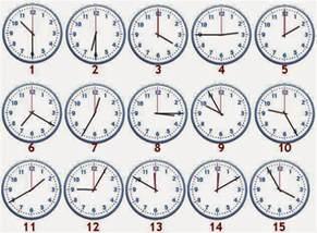 englishnart4fun telling the time in english