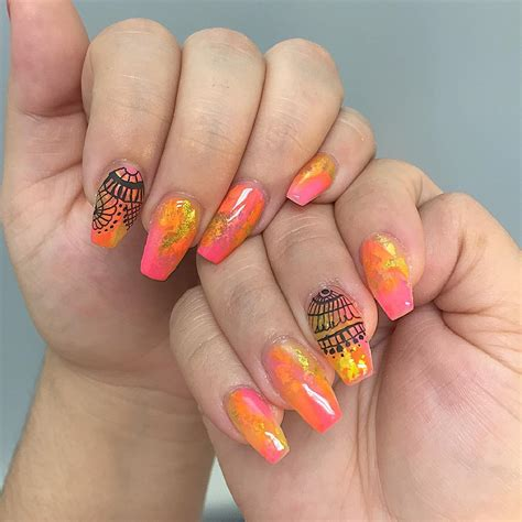 Nail For by 26 Fall Acrylic Nail Designs Ideas Design Trends