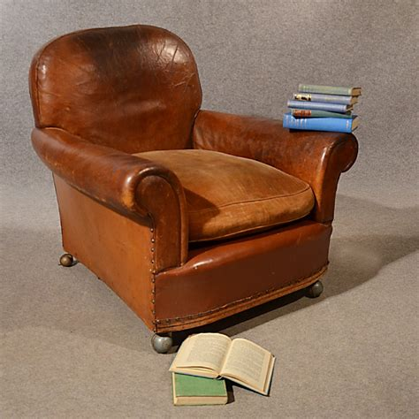 Vintage Armchair Uk by Antique Leather Armchair Vintage Club Easy Chair