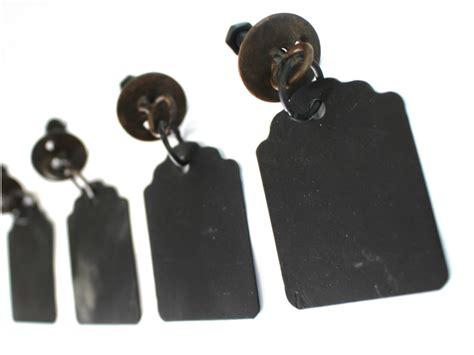 Fashioned Drawer Pulls fashioned drawer pulls hanging tags chalkboard metal