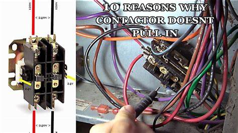 air conditioning contactor wiring wiring diagram networks