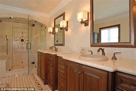 kim kardashian bathroom kim kardashian s 4 8million mansion pictured for the