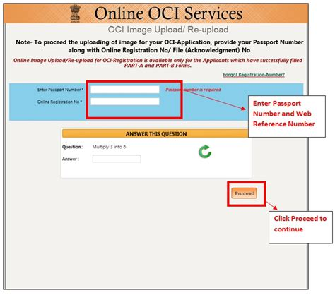 What Documents To Upload For Oci