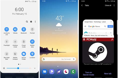 galaxy  preview  ui   clean break  android samsung   wanted pcworld