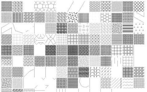 textures  autocad hatch dwg block  autocad