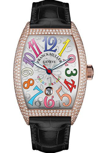 Franck Muller Color Dreams Rosegold Purple Leather franck muller cintre curvex automatic 43 mm watches