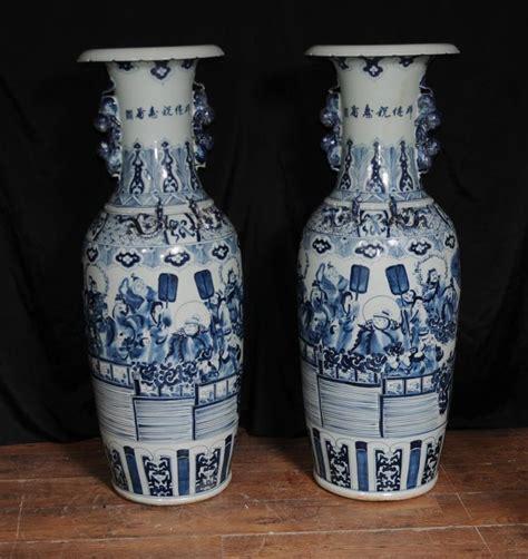 Porcelain Vases And Urns by Pair Qing Porcelain Ceramic Vases Urns Ebay
