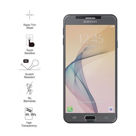 Samsung J7 Prime Premium Tempered Glass Screen Protector 9h tempered glass screen protector samsung galaxy j7 prime