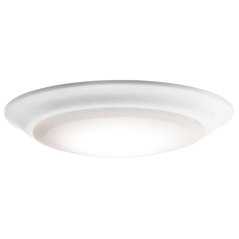 ceiling light fixture kichler 43846whled30 white led ceiling light fixture kic