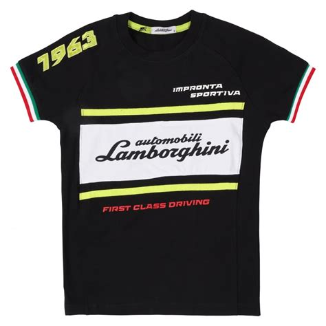 Automobili Lamborghini Clothing by Automobili Lamborghini 1963 Racing T Shirt By Lamborghini