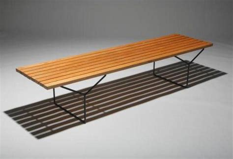 bertoia bench harry bertoia slat bench knoll