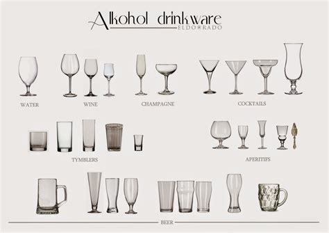 barware glasses types types of wine glasses liquor glasses and glasses on pinterest