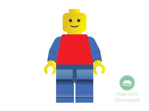 lego pattern ai lego man vector toy vector free download