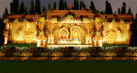 wedding stage flower and reception stage decorations in hyderabad 113 shobha s entertainments