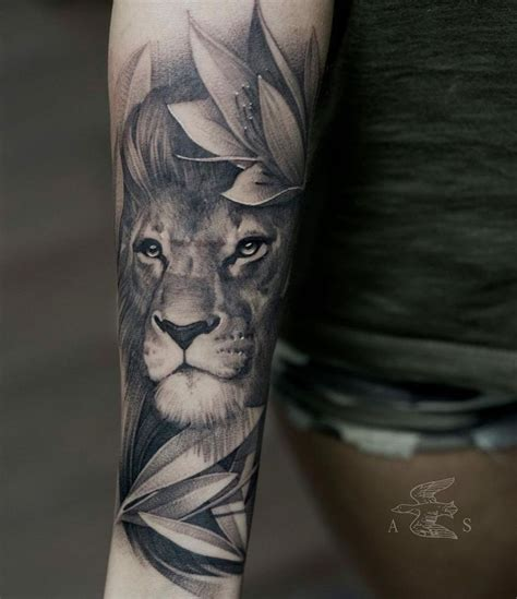 forearm lion tattoo best 25 sleeves ideas on