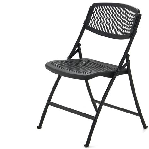 collapsible chair black mity lite flex one folding chair indoor outdoor