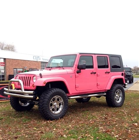 pink jeep car in my car pink jeep
