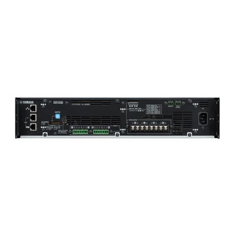 format audio dca xmv series overview power amplifiers professional