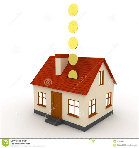 saving for a house saving for a house stock illustration illustration of house 13765186