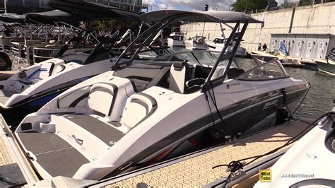 yamaha boats montreal 2016 yamaha ar 240 motor boat walkaround 2016 montreal